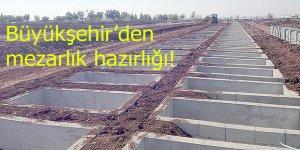 Yeni Köy mezarlığına ek alan tahsis edildi