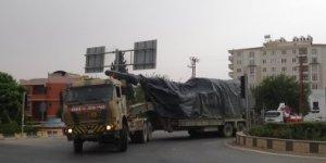 İldib sınırına askeri sevkiyat