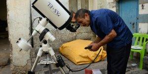 Diyarbakır'ın astronumu teleskopuna kavuştu