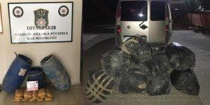 Diyarbakır'da büyük uyuşturucu operasyonu