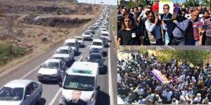 İbrahim Ayhan'ı son yolculuğuna on binler uğurladı