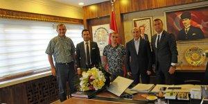 GSYD'den Rektör Gül'e ziyaret