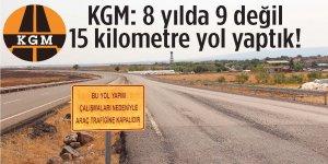 KGM'den Güneybatı çevre yolu açıklaması