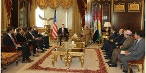 ABD heyeti Barzani ile görüştü