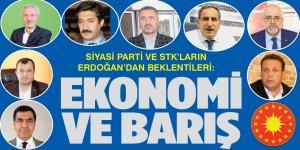 Diyarbakır'daki siyasi parti ve STK'ların Erdoğan'dan beklentileri