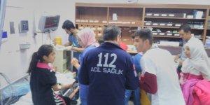 29 öğrenci yemekten zehirlendi