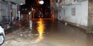 Sağanak, Nusaybin'de Cadde ve sokakları göle çevirdi