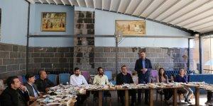 Baro Başkanı Cihan Aydın Basın Mensupları İle Bir Araya Geldi