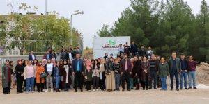 KYK ormanına üniversite öğrencileri 500 adet fidan dikti