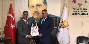 AK Parti'den aday olan Fidan: Eğil'i turizm cenneti yapacağız