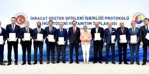 DTSO 'İhracat Destek Ofisleri' için imzalar atıldı