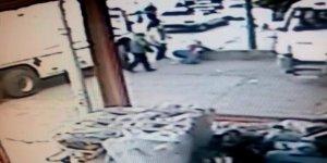 Şanlıurfa'da kuzene tabancalı saldırı kamerada