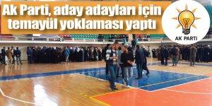 AK Parti Hatipoğlu için yoklama yapıyor