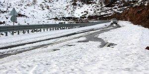 Ardahan'da kar nedeniyle yollar kapandı