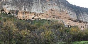 Hasankeyf'in tarihi bahçelerinde sonbahar keyfi