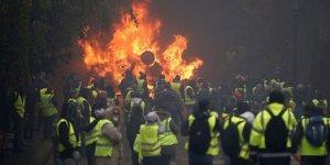 Sarı yeleklilere büyük gösteri öncesi gözaltı