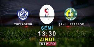 2.Lig'de Haftanın Maçı TRT Kürdi'de