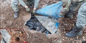 Diyarbakır'da 7 odalı sığınak bulundu