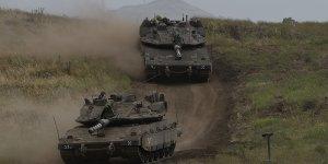 Rus basını: İsrail, Suriye'de savaşa hazırlanıyor