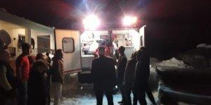 VİDEO- 2 Aylık Bebek Paletli Ambulansla Kurtarıldı