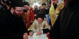 Ortodoks Kilisesi'ne bağımsızlık kazandıracak kararname imzalandı