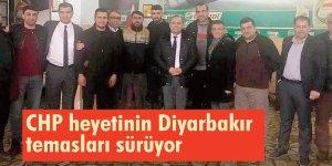 CHP heyetinin Diyarbakır temasları sürüyor