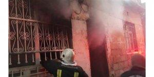 Şanlıurfa'da sigara izmariti evin yanmasına neden oldu