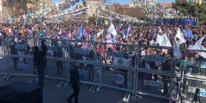VİDEO- HDP, Diyarbakır'da kitlesel miting yaptı: Mutlaka kazanacağız