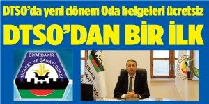 DTSO'da yeni dönem Oda belgeleri ücretsiz