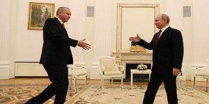 Erdoğan ile Putin'in Moskova görüşmesi başladı