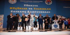 Mardinli Baver küçükler satranç şampiyonu