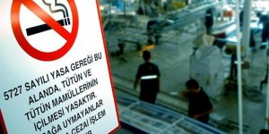 Mekanlarda ve açık alanda sigara içmek yasaklanıyor