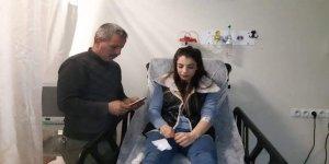 Milli güreşçi Evin Demirhan trafik kazasında yaralandı