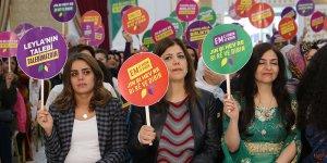VİDEO- HDP'nin kadın belediye başkan adayları tanıtıldı