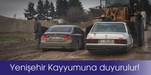 Yenişehir Kayyumu'na duyurulur!