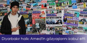 Diyarbakır halkı Amed'in gözyaşlarını kabul etti