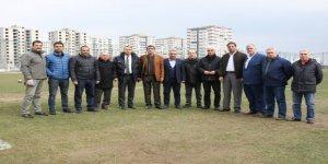 DTSO ve Diyarbakır Spor Taban Birlikleri'nden Amedspor'a destek ziyareti