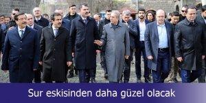 Çevre ve Şehircilik Bakanı Murat Kurum: Sur eskisinden daha güzel olacak