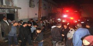 Cizre'de ev yangını