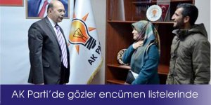 AK Parti'de gözler encümen listelerinde