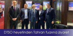 DTSO heyetinden Tahran fuarına ziyaret