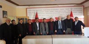 Diyarbakır'ın Çınar ilçesinde Saadet Partisi'ne büyük katılım