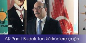 VİDEO-AK Partili Budak'tan küskünlere çağrı