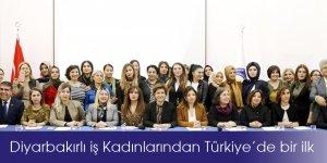 VİDEO-Diyarbakırlı iş Kadınlarından Türkiye'de bir ilk