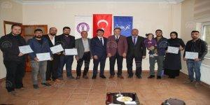 Midyat'ta girişimci adaylarına sertifika
