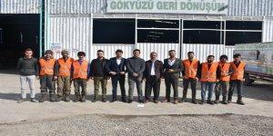 Devlet desteğiyle kurdukları tesiste istihdam sağlıyorlar