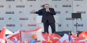 Erdoğan: Onların derdi hizmet değil