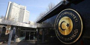 Türkiye'den Avrupa Parlamentosuna tepki