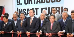 Diyarbakır'da 9. Ortadoğu İnşaat Fuarı açıldı