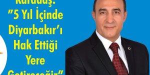Bağımsız aday Karadaş: Selahaddin Eyyubi gibi birleştirici olacağım